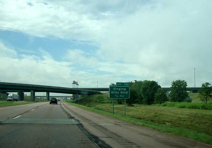 Interstate Hwy I 29 South Exit Information