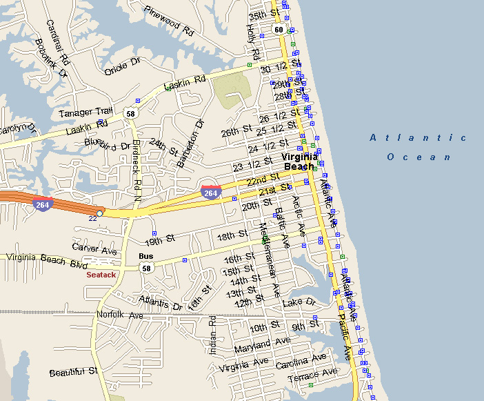 Virginia Beach Boardwalk Hotel Map Pictures To Pin On ...