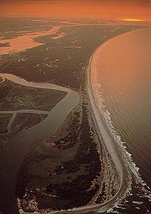 South Carolina coastline
