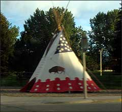 Teepee in Cody WY